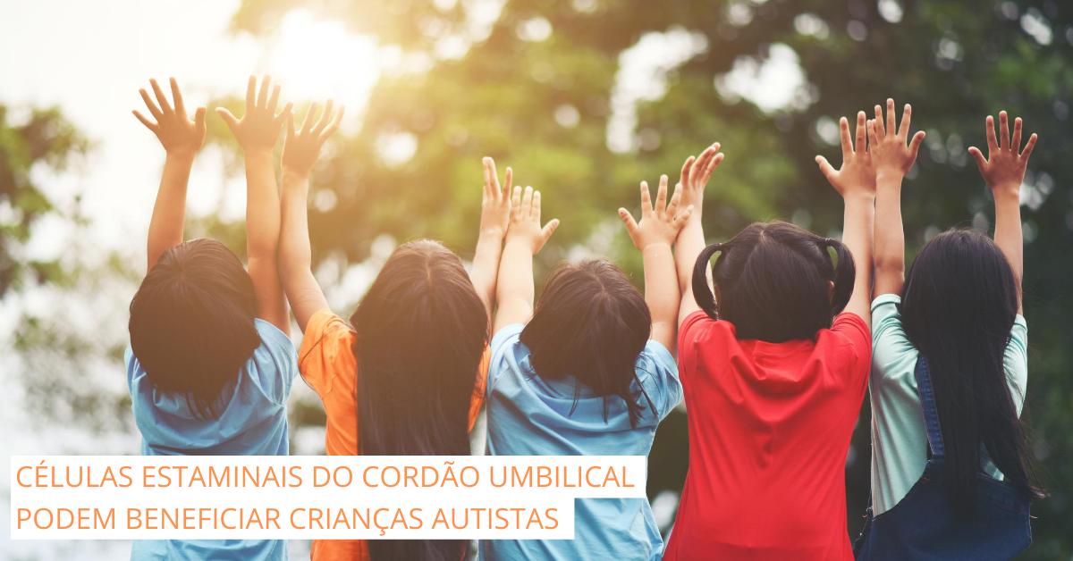Estudo sugere que células estaminais do cordão umbilical podem beneficiar crianças autistas